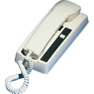 Newmar Phone Com Handset, 2 Station, White