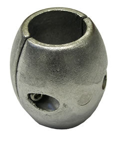 Performance Metals Streamlined Collar Aluminum Anode 1-1/4""