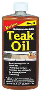 Starbrite Premium Golden Teak Oil 16 oz