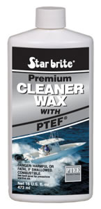 Starbrite Premium Cleaner Wax with PTEF 16 oz