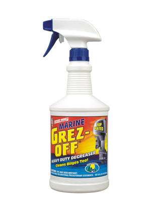 Spray Nine Marine Grez-Off Heavy Duty Degreaser 32 oz