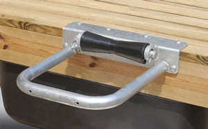 Tie Down Hoop Roller Pile Holder 14?