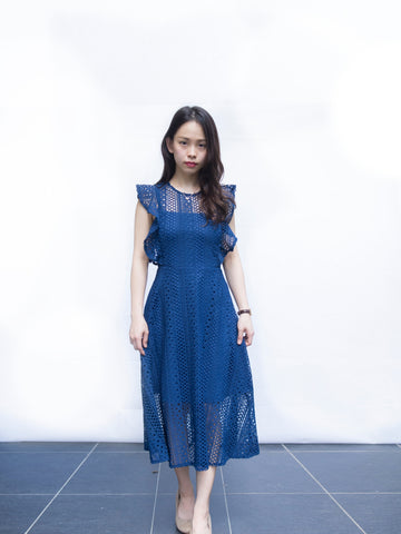 Winny Decent Crochet Sunday dress