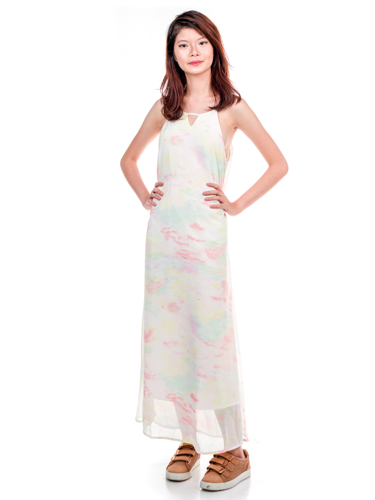 Magdeline Floral Long Dress
