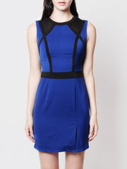 Reche Statement Work Dress Blue