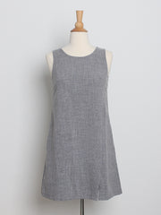 Ariel Everyday Shift Dress Grey