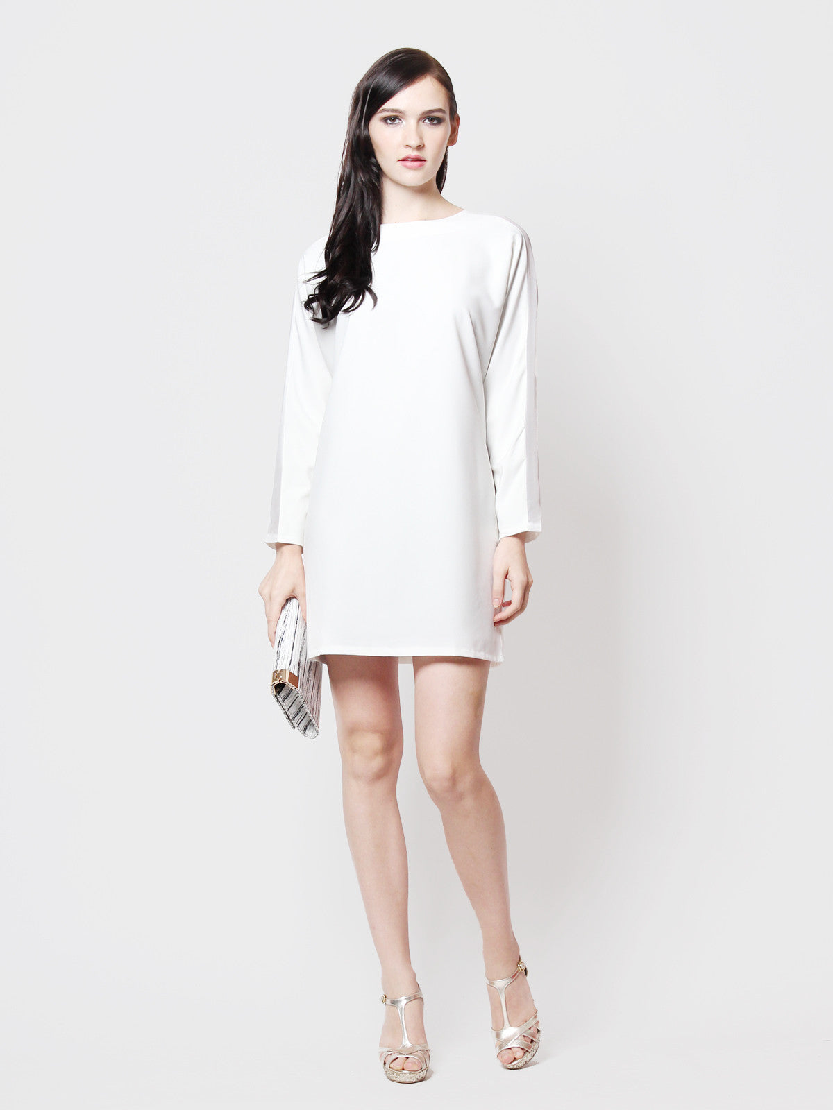 Eve Mod Dress White