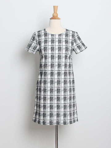 Grace Shift Dress Mono