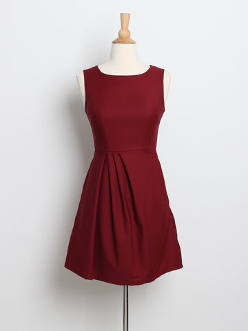 Kyra Work Dress Wine