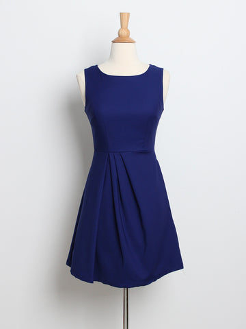 Kyra Work Dress Navy