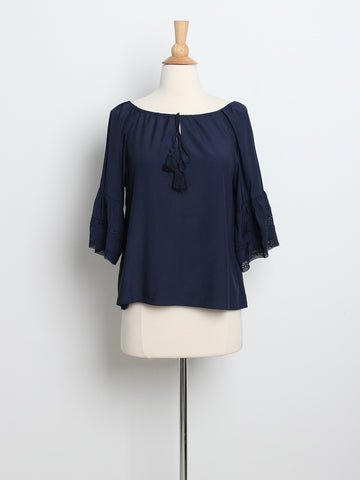 Luella Dreamers Top Navy