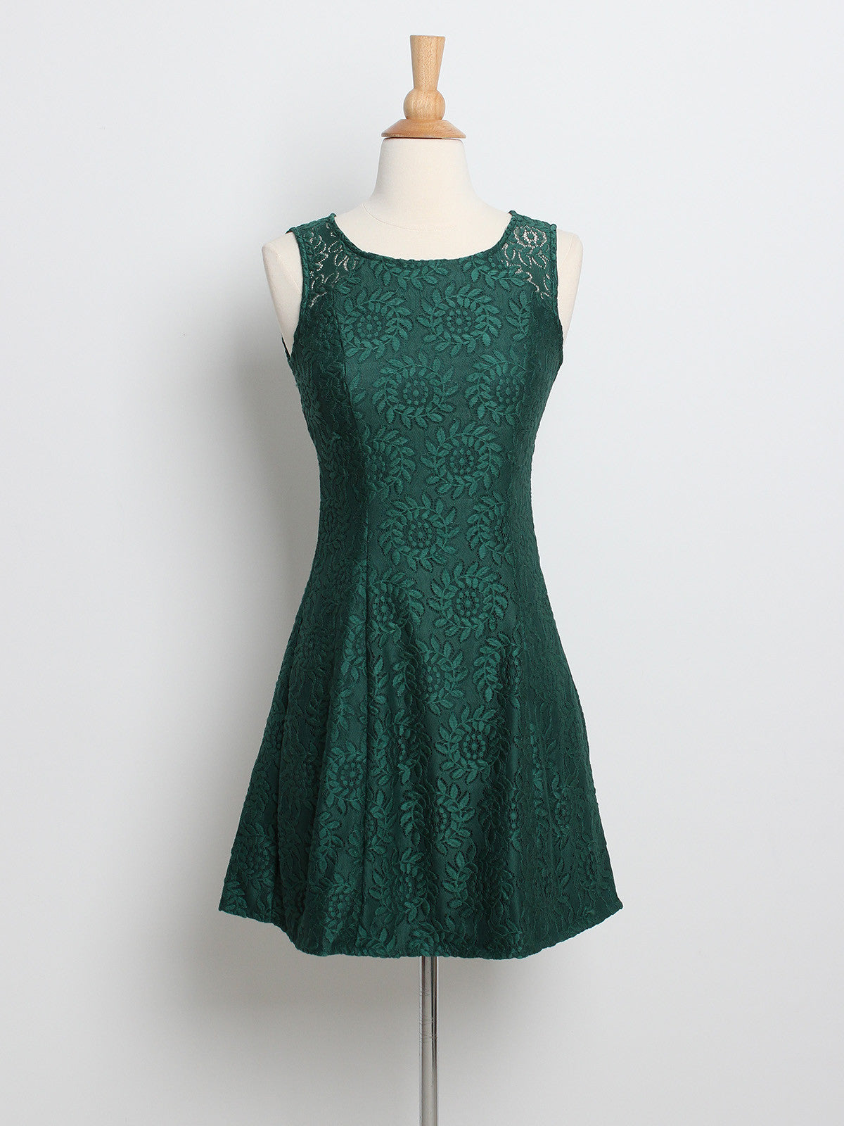 Kelly Lace Dress Forest