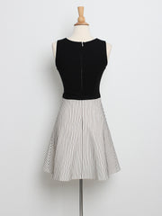 Aubrey Striped Dress Mono