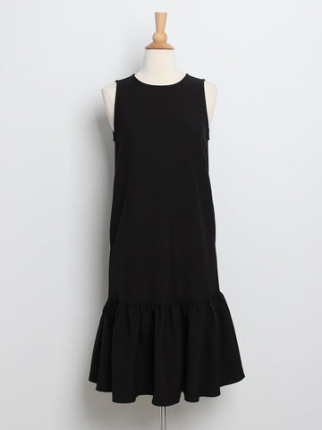 Leonie Midi Dress Black