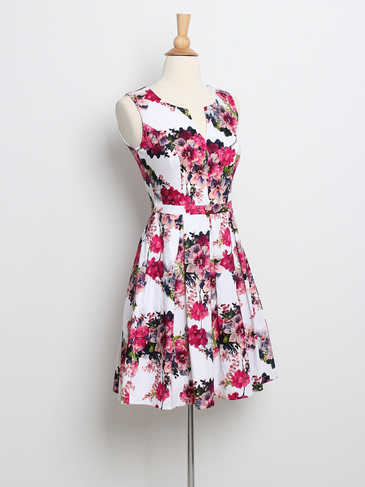 Jerlyn Floral Dress Pink