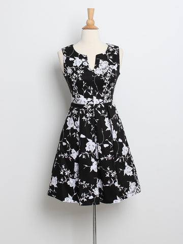 Jerlyn Floral Dress Mono
