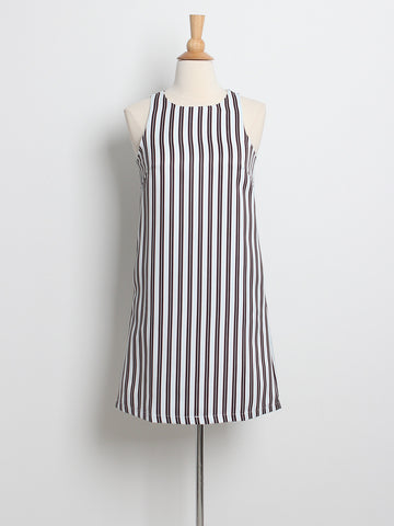 Penny Nautical Striped Dress