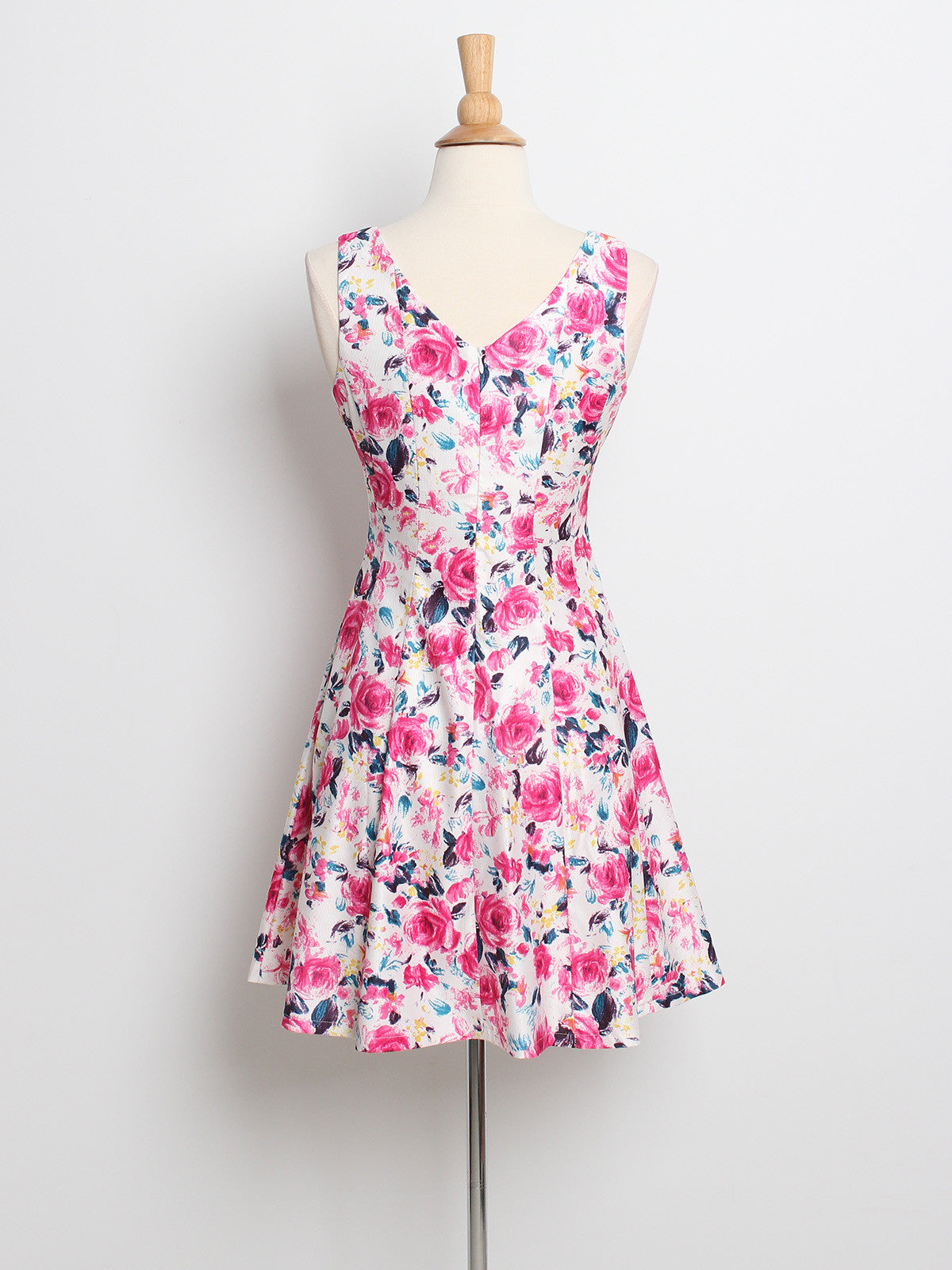 Lexie Spring Florals Dress Pink