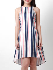 Trina High Low Hem Dress Sunset