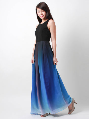 Arabella Occasion Dress Blue *Backorder*