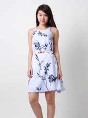 Eden Blooms Trapeze Dress LIlac
