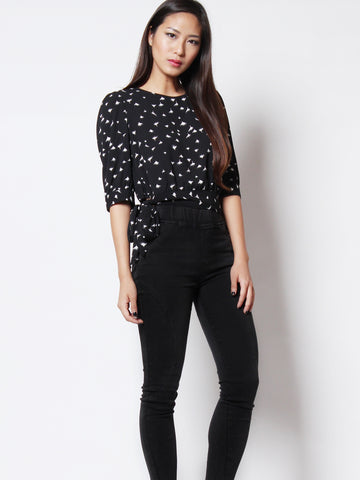 Faith Casual Top Print
