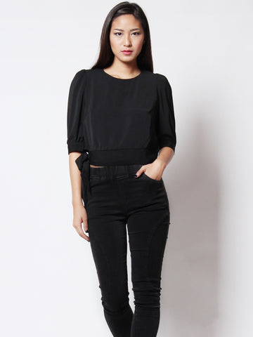 Faith Casual Top Black