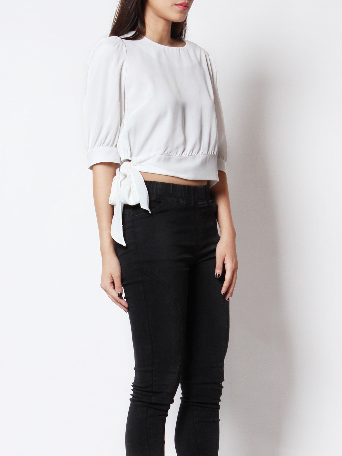 Faith Casual Top White