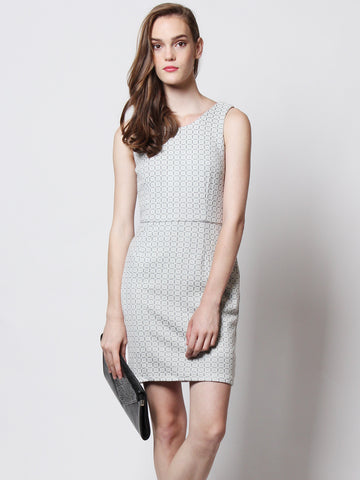 Chelle Work Dress Grey