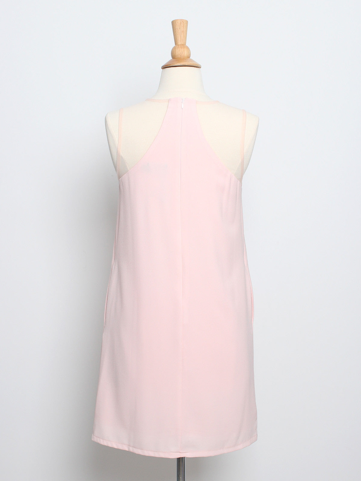 Juliette Mesh Shift Dress Blush