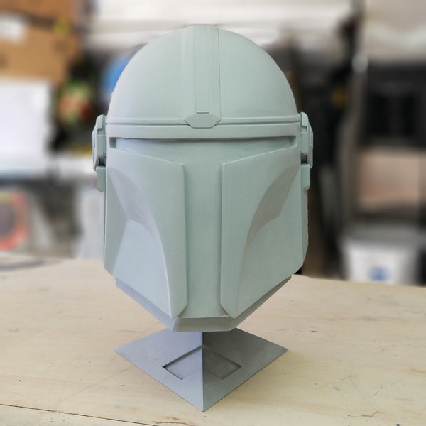 Mando helmet unfinished resin cast