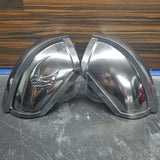 Mando shoulder armor finished chrome pair