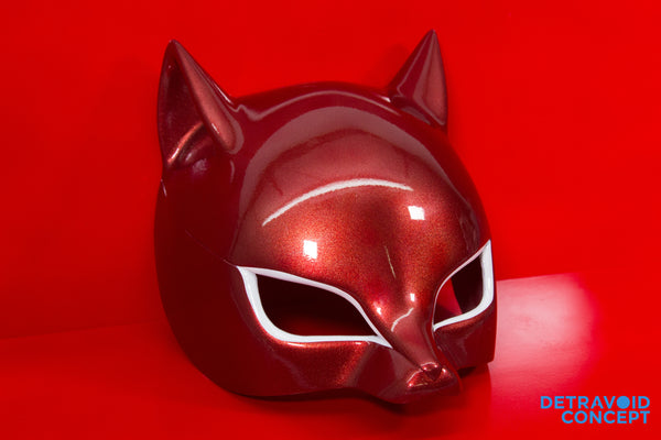 Persona 5 Ann Takamaki Panther Mask w/bonus Phantom Thieves logo vinyl sticker and calling cards!