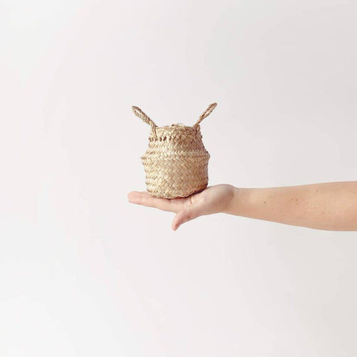Woven Belly Basket - Small