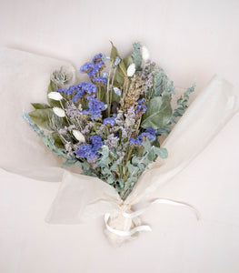 Dried Bouquet - Periwinkle Blue