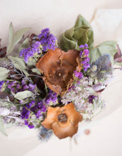 Load image into Gallery viewer, Dried Bouquet - Plum + Wood