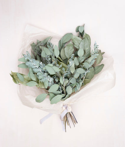 Dried Bouquet - Greenery Blend