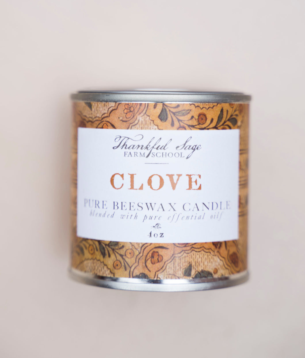 Clove Pure Beeswax Candle