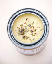 Load image into Gallery viewer, Lavender Pure Beeswax Candle