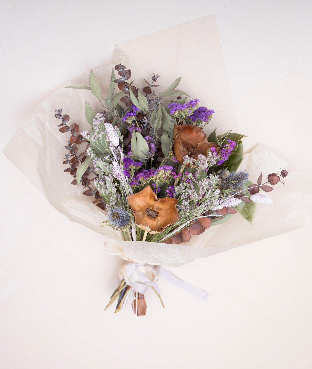 Dried Bouquet - Plum + Wood