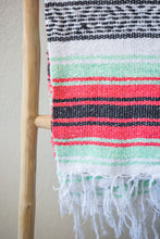 Load image into Gallery viewer, Falsa Blanket - Raspberry + Mint
