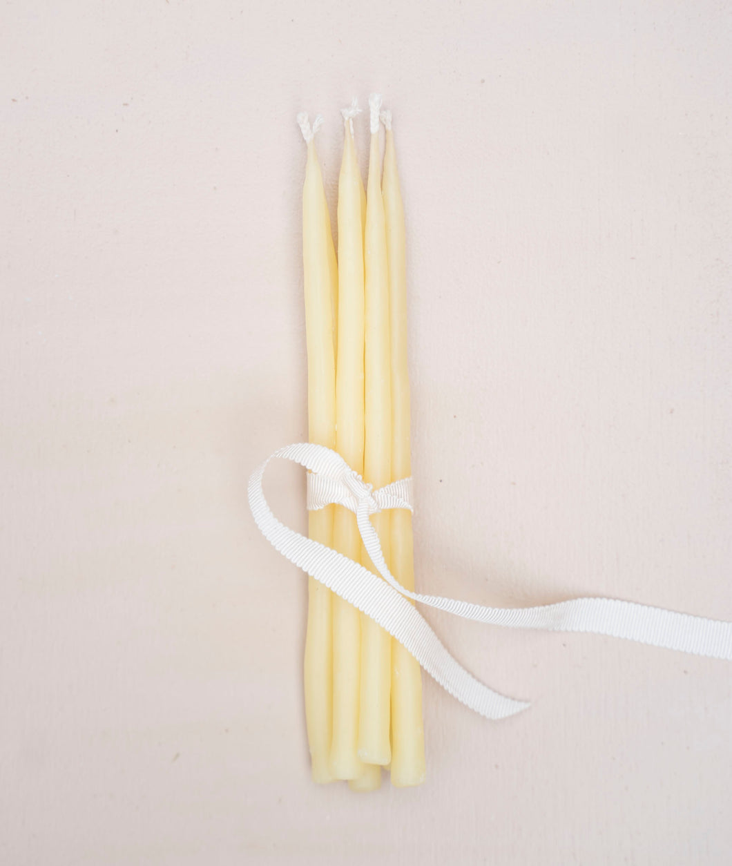 Beeswax Birthday Tapers