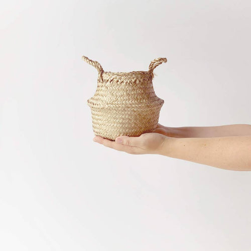 Woven Belly Basket - Tabletop