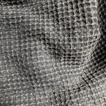 Load image into Gallery viewer, Waffle Weave Turkish Towel - Charcoal