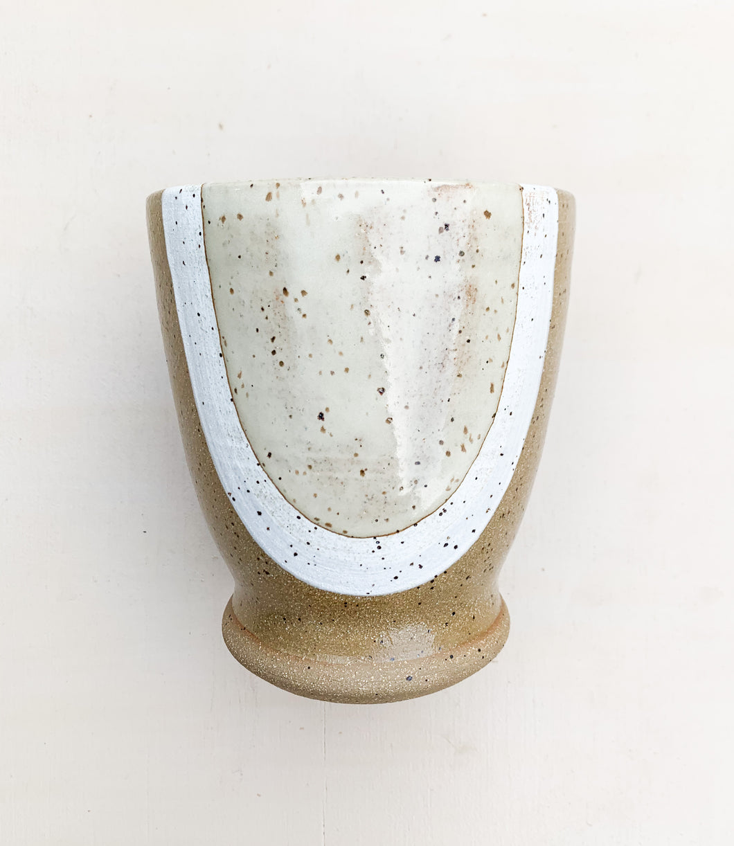 Hand thrown Ceramic Planter Vase