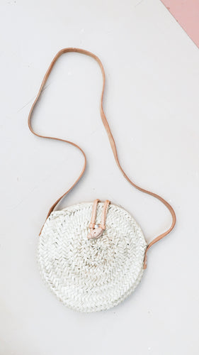Leather + Woven Bag (Petite)
