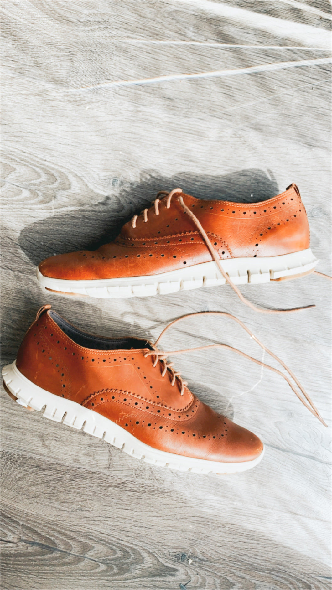 Leather Sneakers - Cole Haan