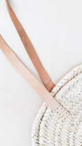 Leather + Woven Bag (Large)