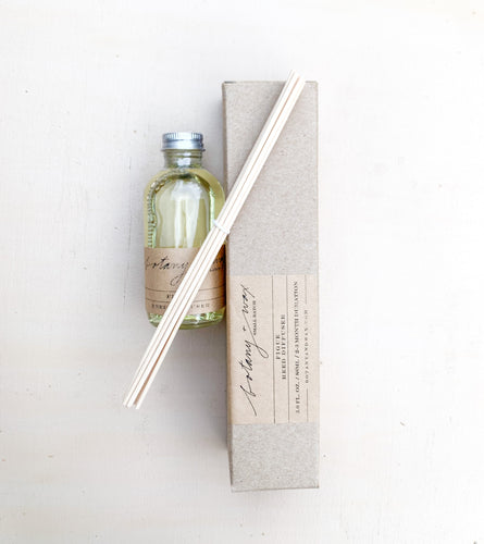 Botany + Wax - Reed Diffuser (Figue)
