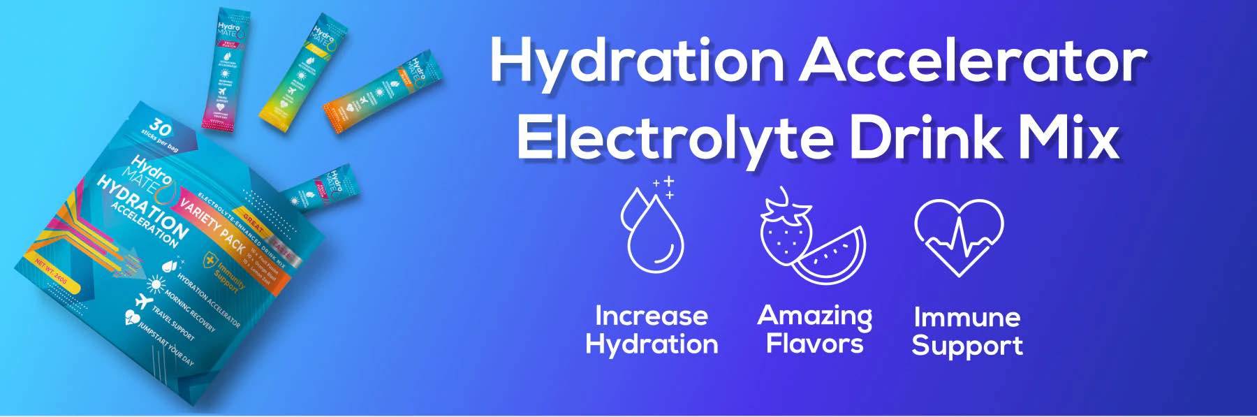 Hydration Accelerator Electrolyte Drink Mix